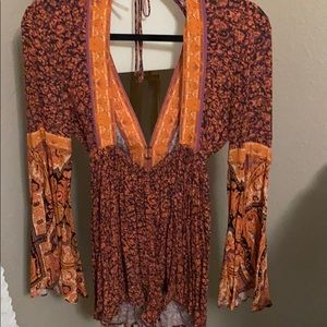 Free People Other - Free People Boho Romper